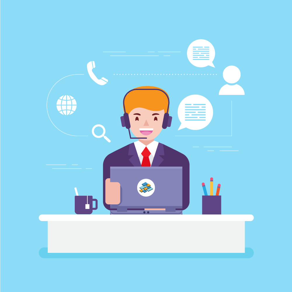 Illustration of a virtual chief information officer.